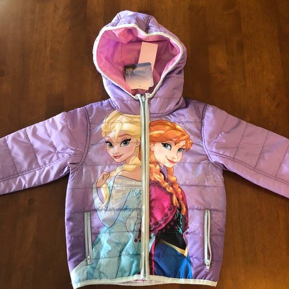 a0a448ccb61b Disney Jackets & Coats | Frozen Princess Puffer Various Size New ...